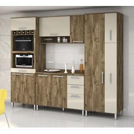 Armario Cozinha 10 Portas 5 Gav Ravena Reflecta