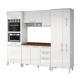 Armario Cozinha 10 Portas e 3 Gavetas Ravena