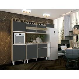 Armario Cozinha 6 Pts Compacta Smart