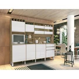 Armario Cozinha 8 Pts Kit Smart