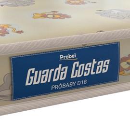 Colchao Probel Guarda Costas Infantil D18 Liso 150x70