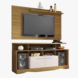 Conjunto Sala Painel Chanel TV 52 Polegadas e Home Centurini