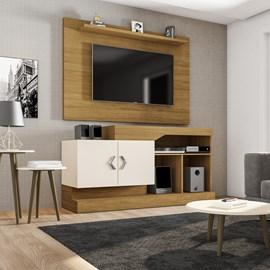 Conjunto Sala Painel Kenzo TV 50 Polegadas e Home Lido