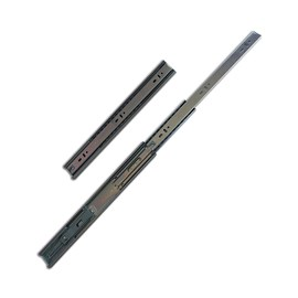 Corrediças Metálicas Telescópicas Soft Close Reforçadas 35cm