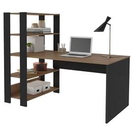 Mesa Computador Escrivaninha Quarto Escritorio Estante Match