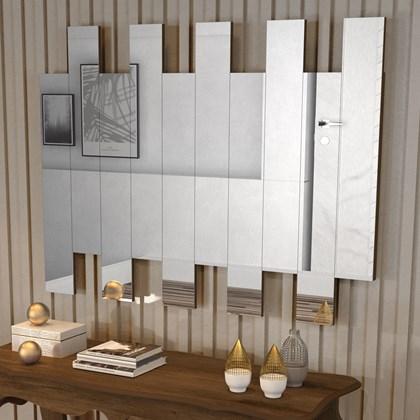 Painel de Espelho JB 4055 Cor Canela madeirado