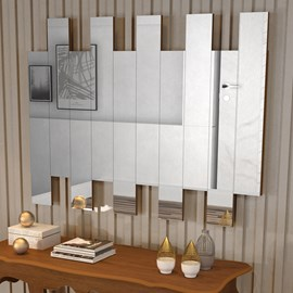 Painel de Espelho JB 4055 Cor Caramelo Madeirado