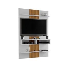 Painel TV até 47 Pol. Vega Branco efeito Ripa