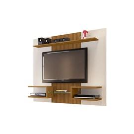 Painel TV Até 55 Pol. Atlas OffWhite/Cinamomo - Ripa