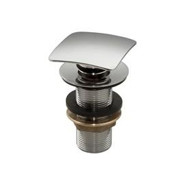 Valvula Click Quadrada Lavatorio 7/8 Metal Cromado