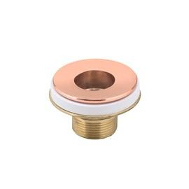Válvula Lavatório Ajustável 7/8 Em Metal Cor Cobre